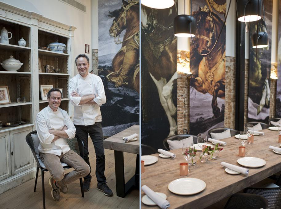 Restaurante dos cielos hermanos torres madrid gu a repsol for Cocina hermanos torres