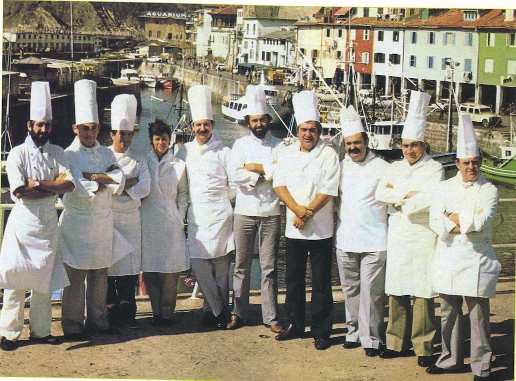 La Nueva Cocina Vasca en el puerto de Donosti. Foto: Usoz