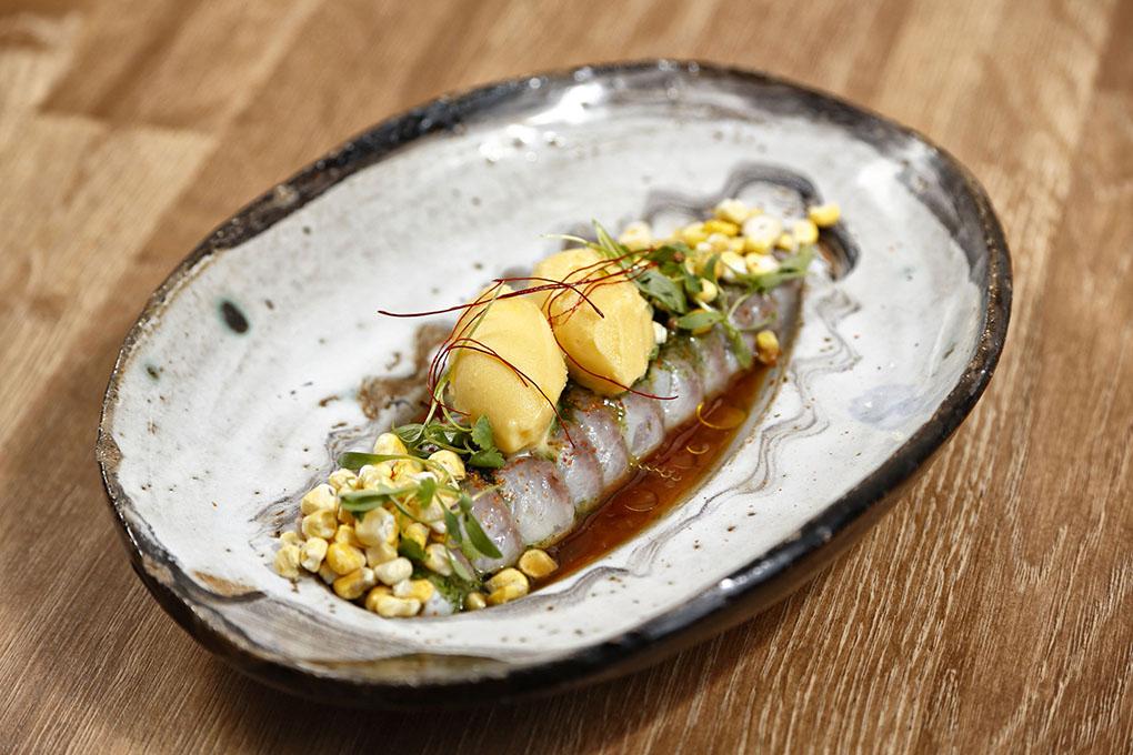 Restaurante Qué Leche (Las Palmas de GC) - corvina estilo nikkei. Foto: Roberto Ranero
