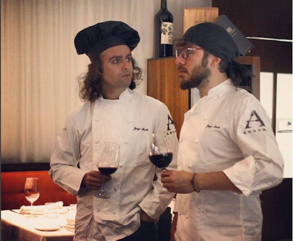En La Cuchara de Rivas, en el espectáculo Rock & Food. Foto: Antílopez