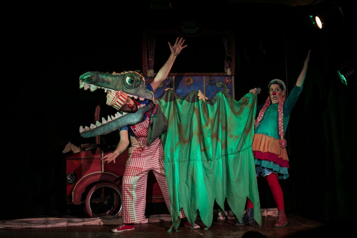 Un momento de la actuación. Foto: Eva Máñez