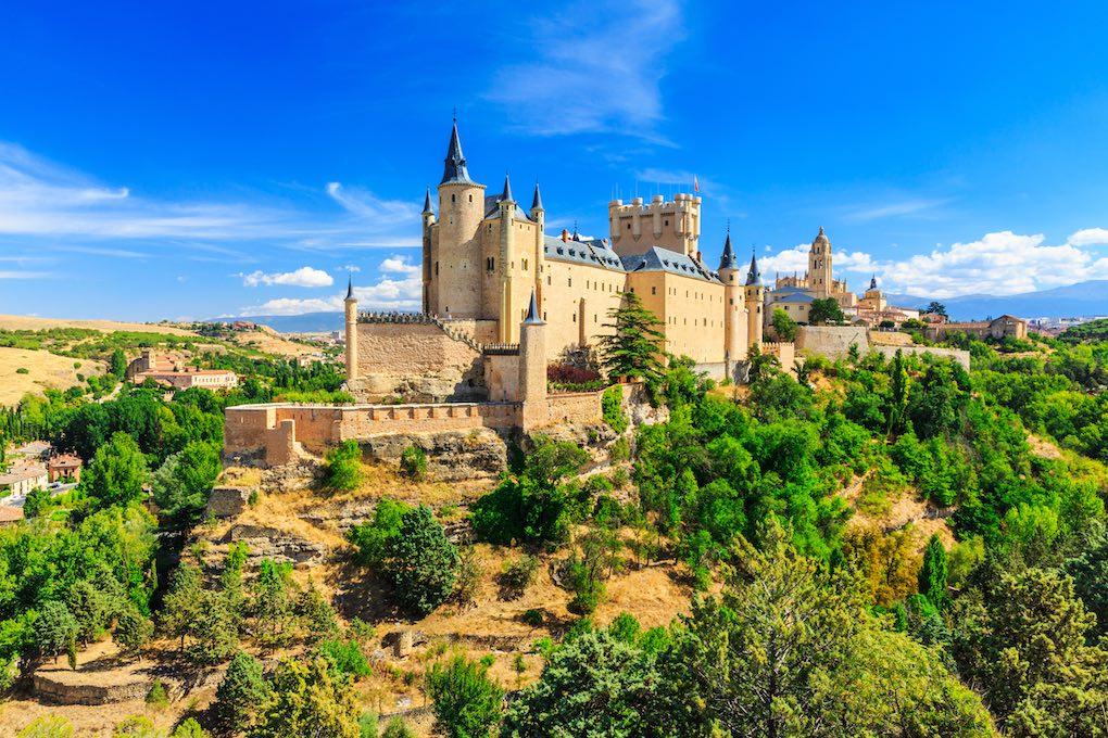 Alcázar de Segovia. Foto: Shutterstock