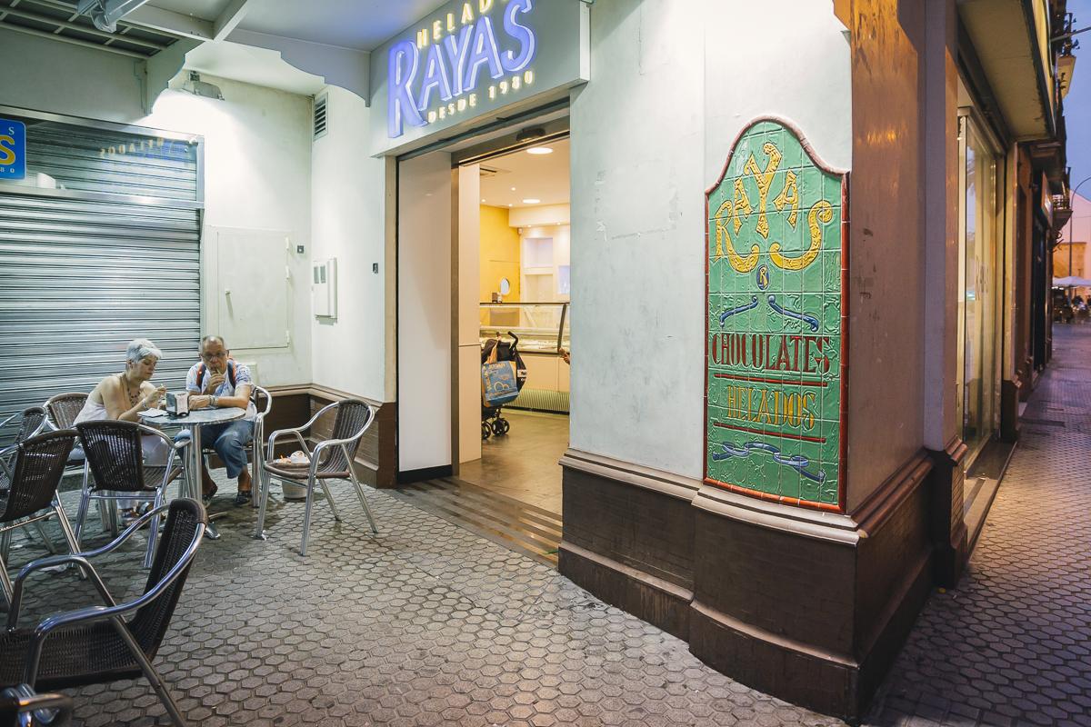 Heladerías de Sevilla: Rayas (1). Foto: Javier Sierra