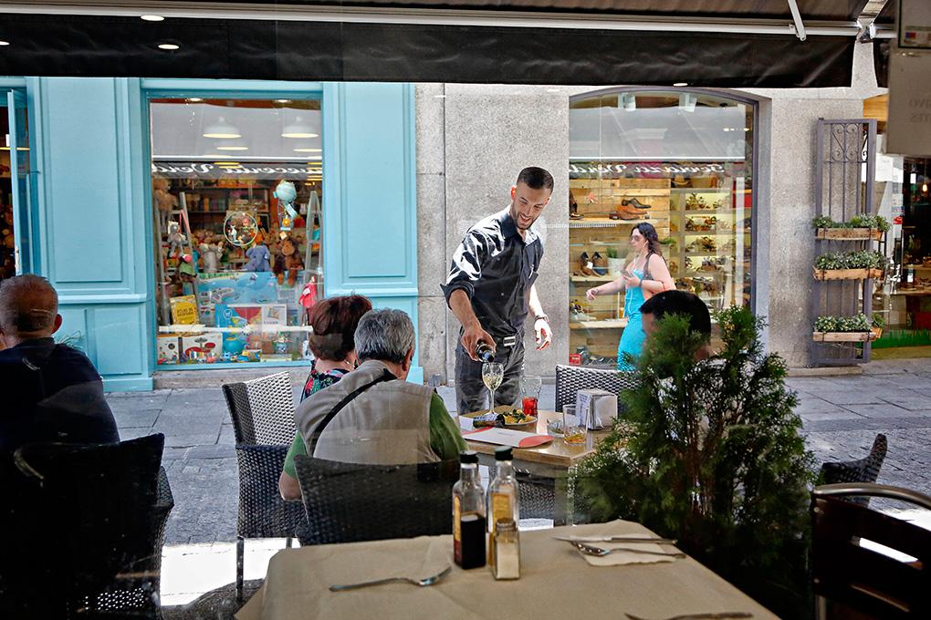 Cafetería Verdoy, Madrid.