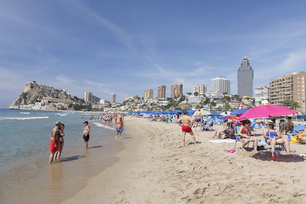 Cala de la playa del Poniente. Foto: Pepe Olivares