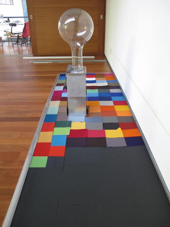 Obra de Moisés Pérez Albéniz, Galería Victoria Civera. Foto: ArteSantander