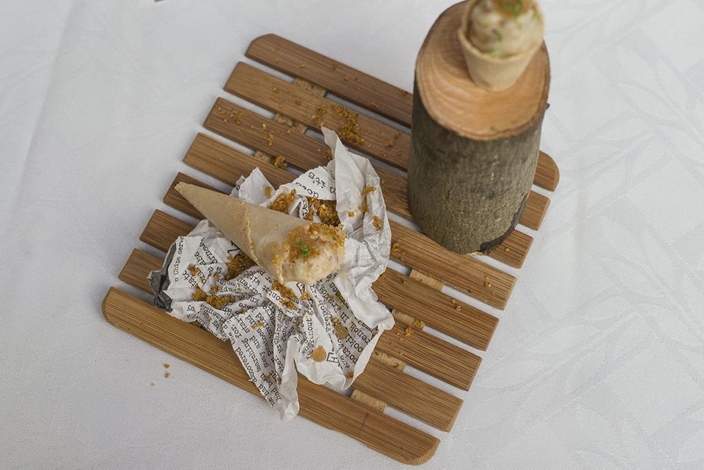 Cucurucho de queso de David Canca