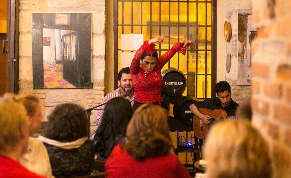 Flamenco en El Guijarrón