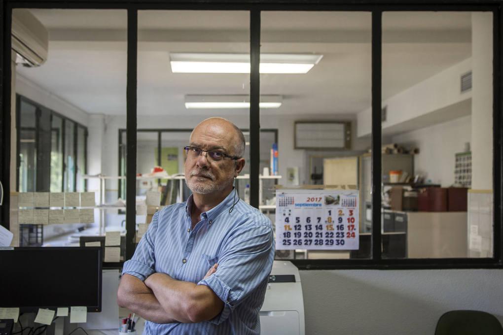 José Couceiro, experto en pistachos