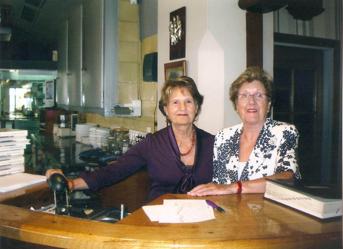 Las hermanas Rexach del restaurante Hispània. Foto: Hispània