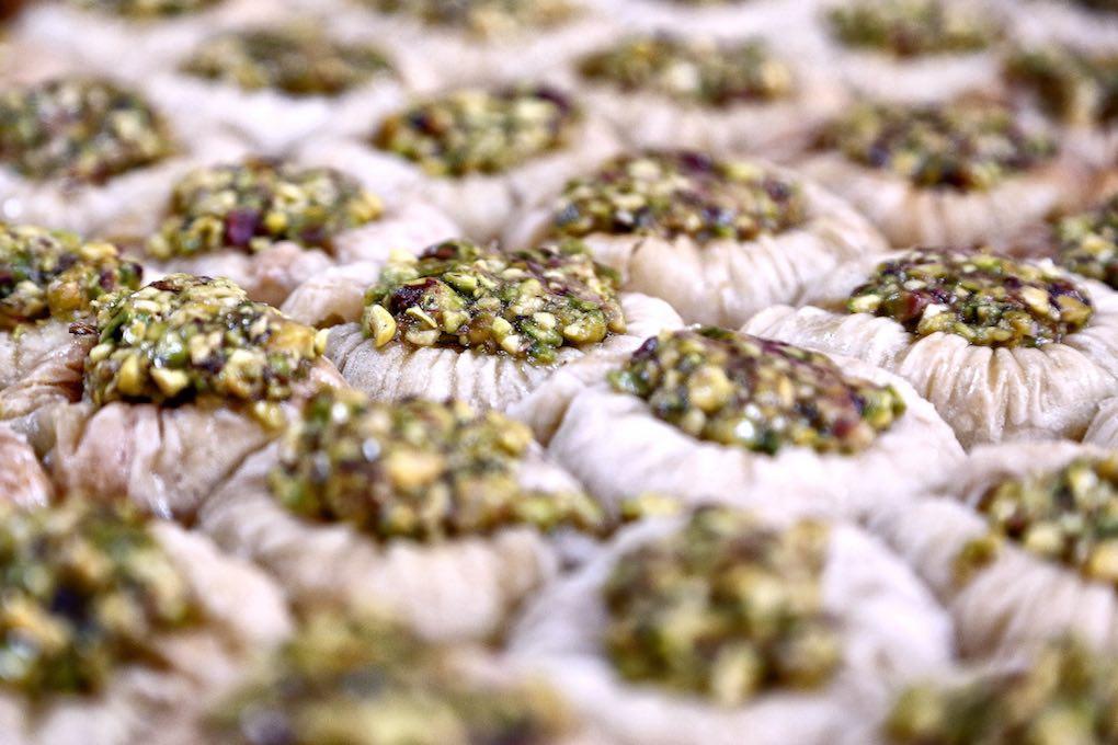 Dulces marroquiés de Salamat. Foto: Roberto Ranero