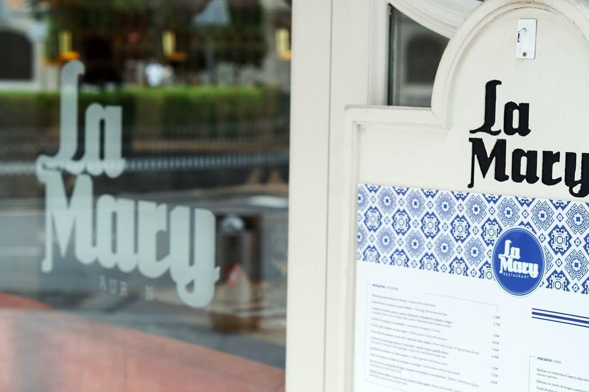La entrada al restaurante La Mary. Foto: Facebook