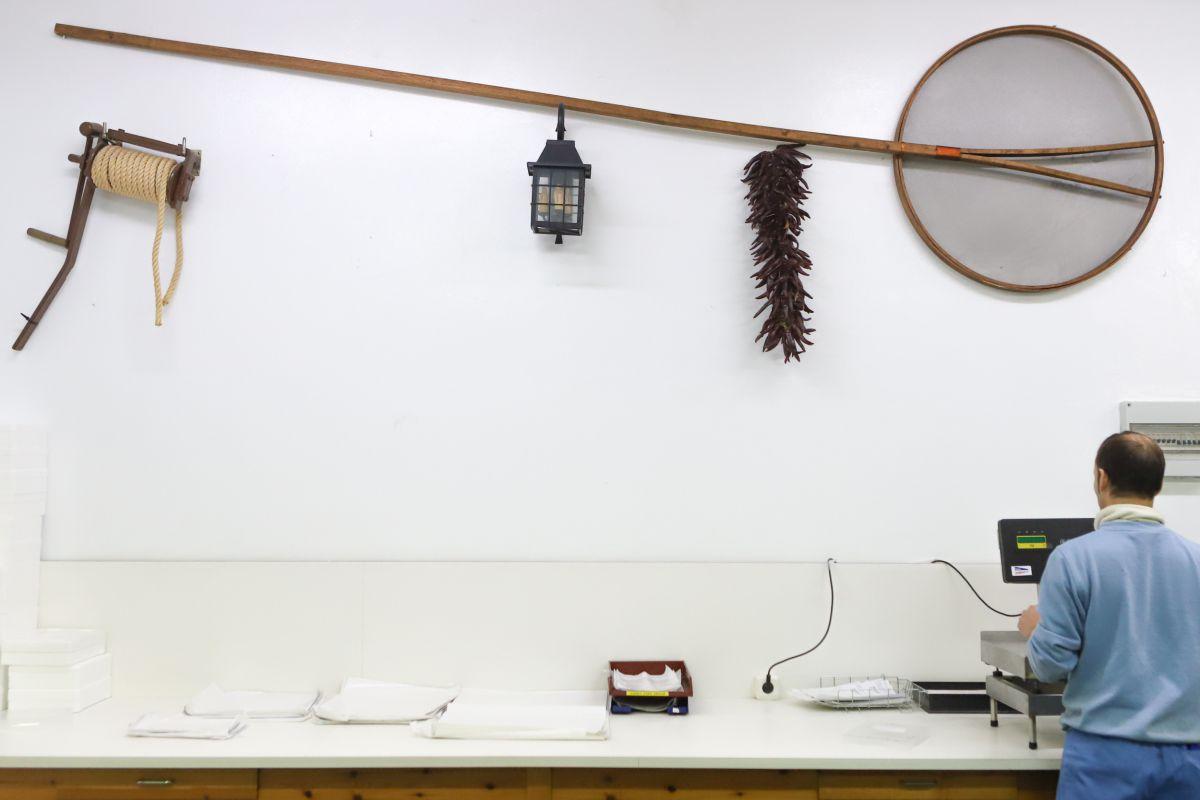 Parte del proceso de las angulas. Foto: Bixigorri
