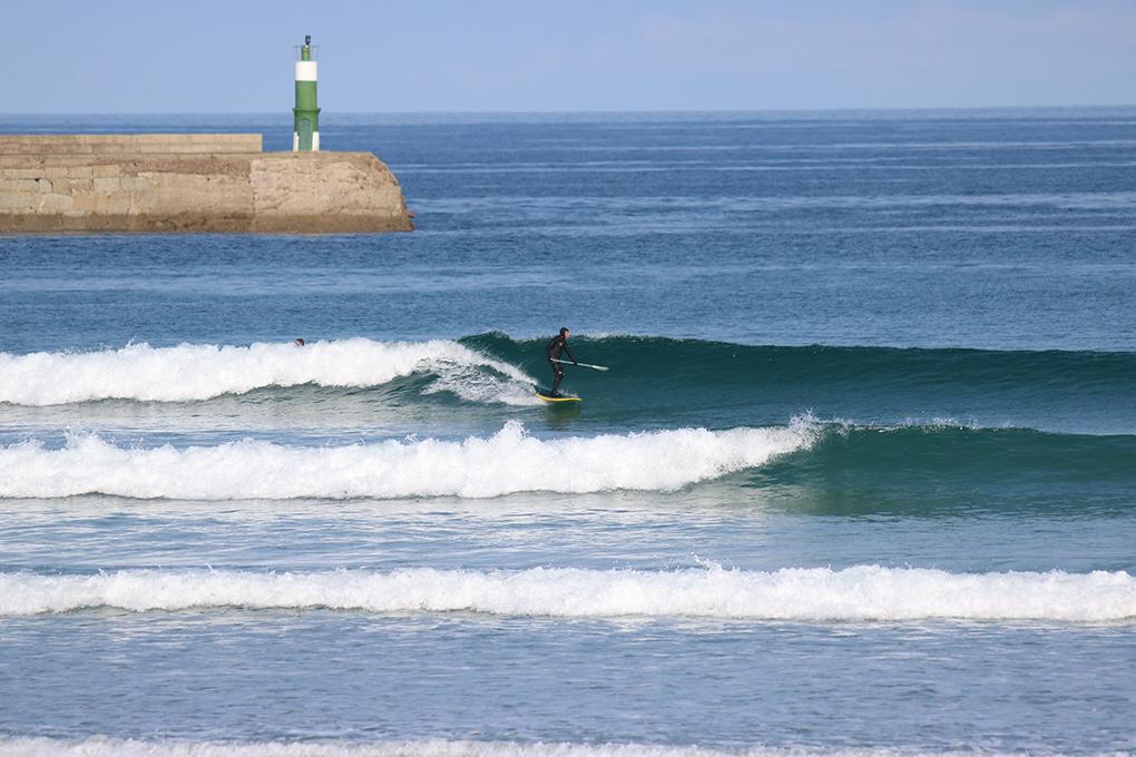 Paddle surf en El Farolillo. Foto: Buena Onda