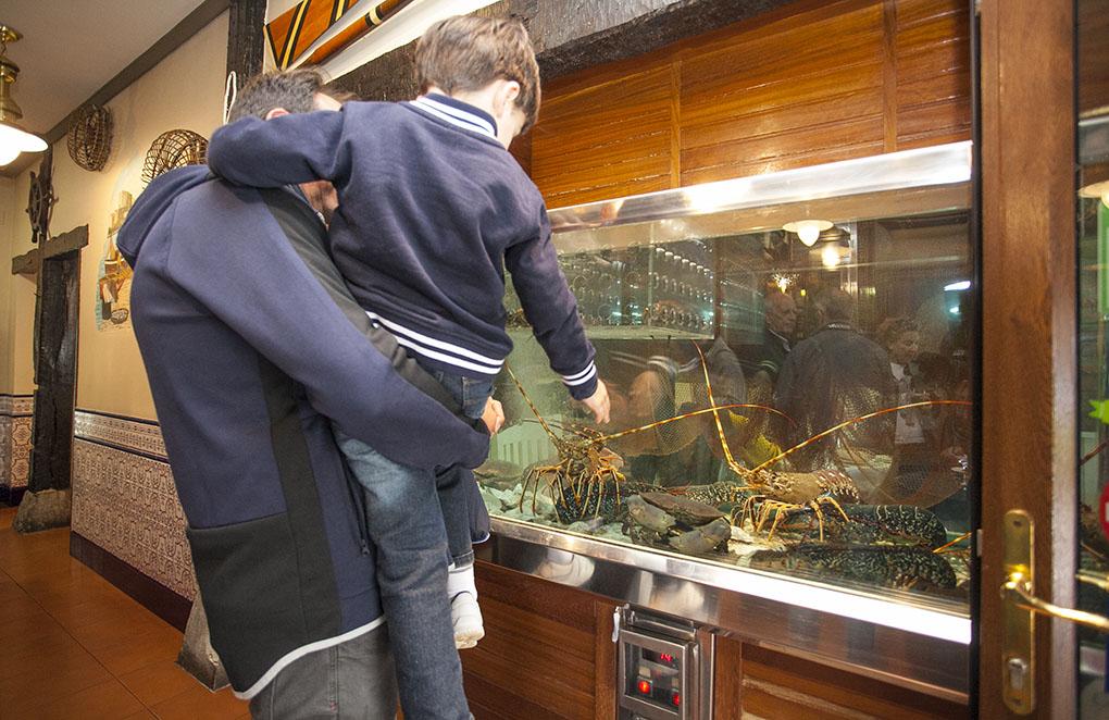 Restaurante de San Vicente de la Barquera: Las Redes - vivero de marisco - Foto: José García