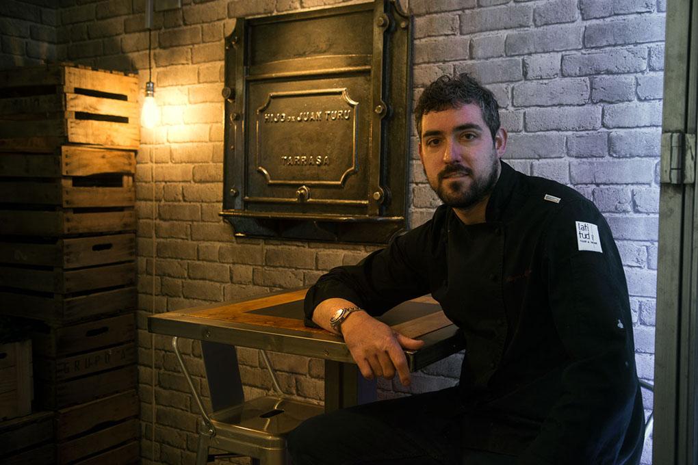 Chef Diego Morales. Foto: Manuel Ruiz Toribio