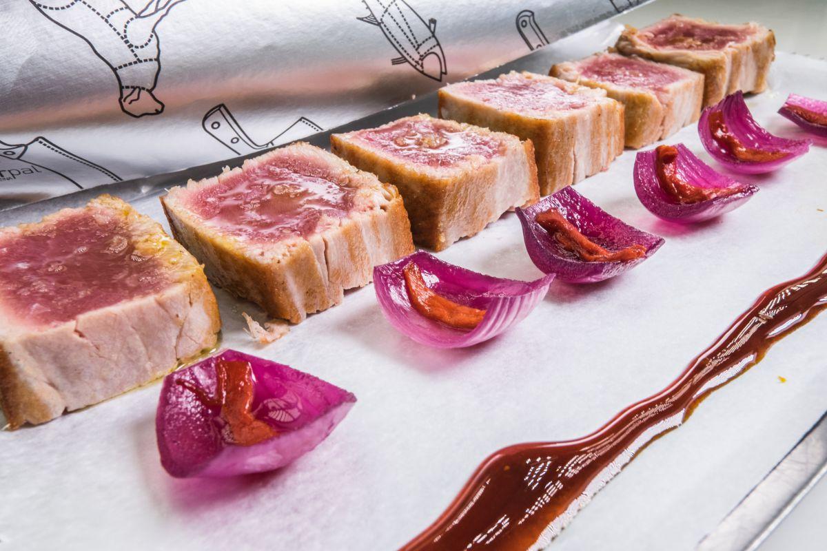 Tres barrios foodies de Madrid (Inspiraciones). Plato de Sala de Despiece