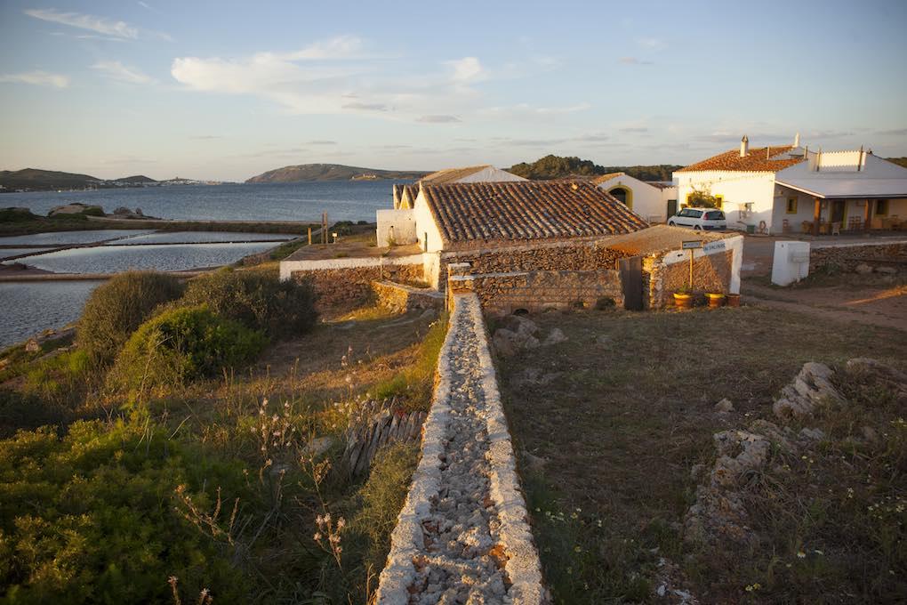 Vista de las salinas. Foto: Antonio Xoubanova