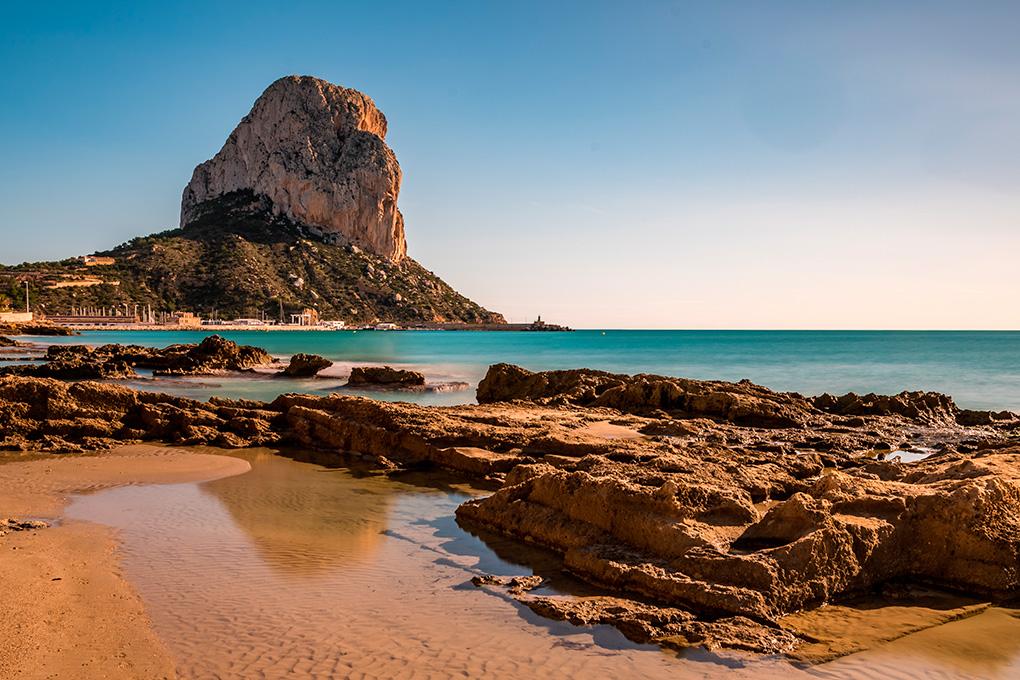 Peñón de Ifach, Alicante.