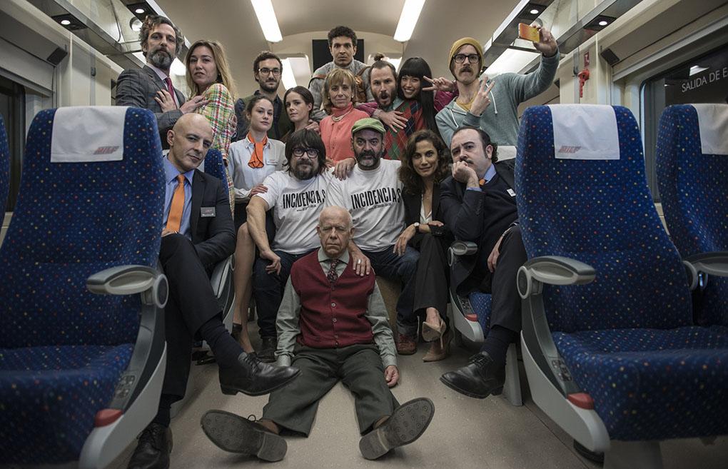 Equipo de la película 'Incidencias'. Foto: Filmax