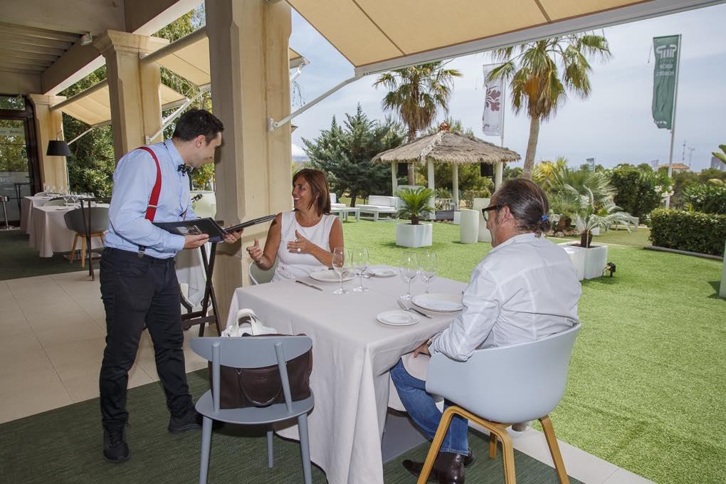 La terraza del restaurante Rice. Foto: Pepe Olivares