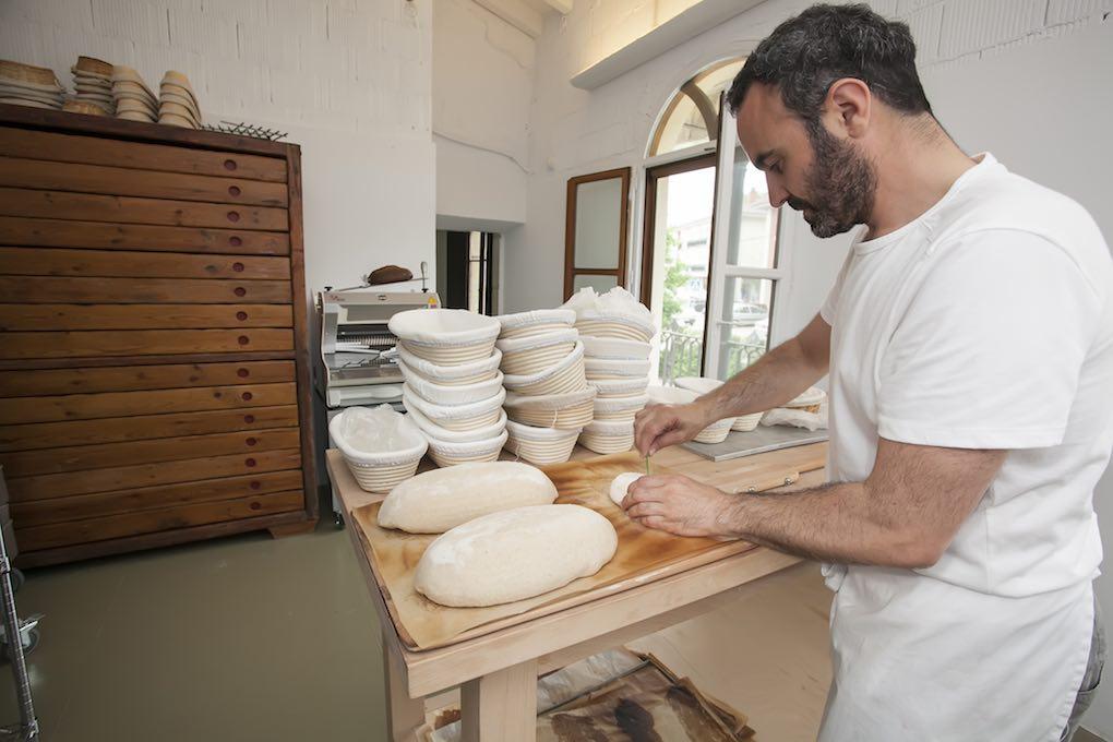 Dando forma la pan