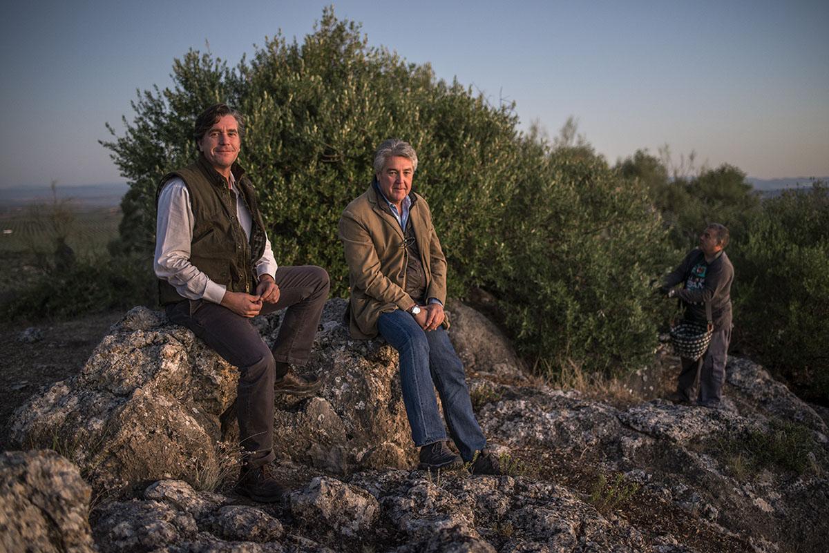 Luis y Paco Montabes, propietarios de MONVA. Foto: Alfredo Cáliz