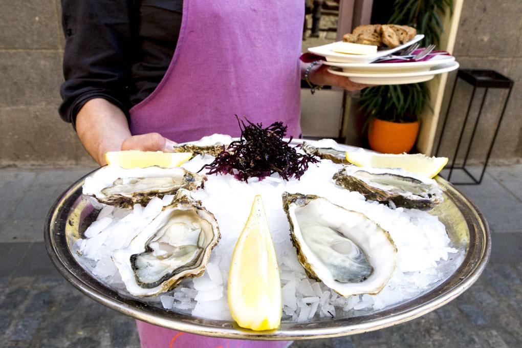 Platos de ostras, Gouthier