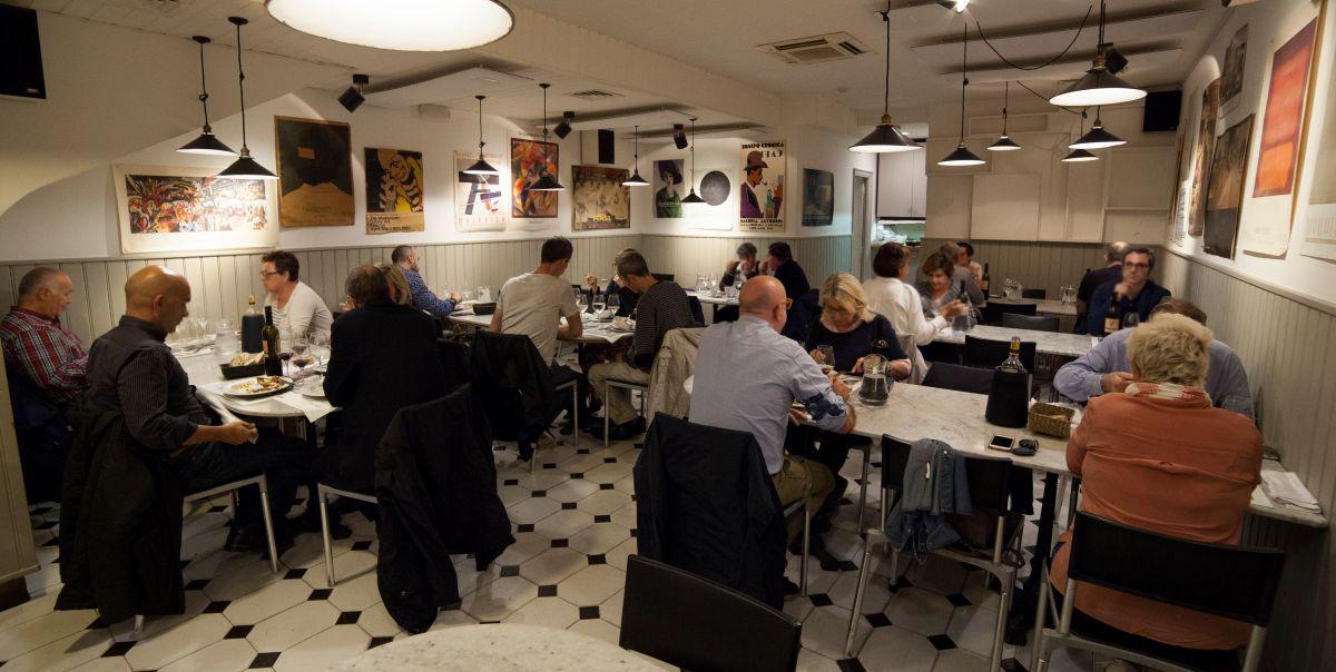 Ambiente en el interior del restaurante Morgan. Foto: Gari