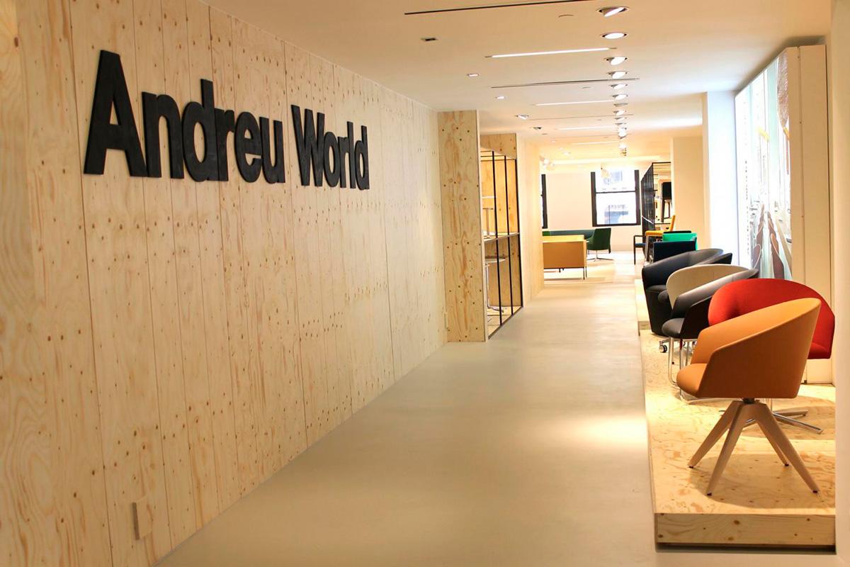 Andreu World, en Nueva York
