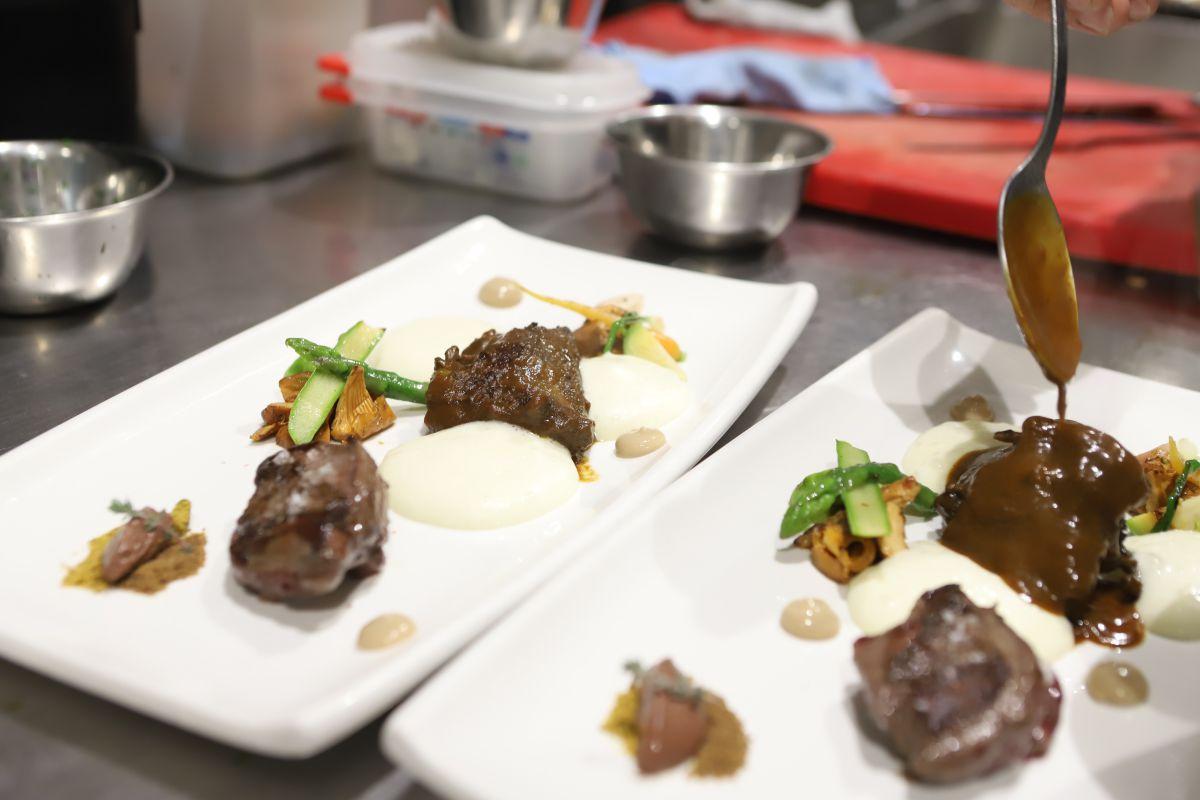 Otro de los platos estrella del Casa Urola. Foto: Yoana Salvador