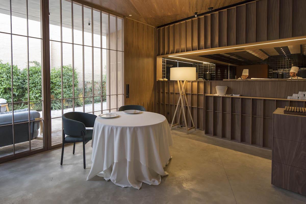El nuevo espacio de 'Ricard Camarena Restaurant'. Foto: cedida