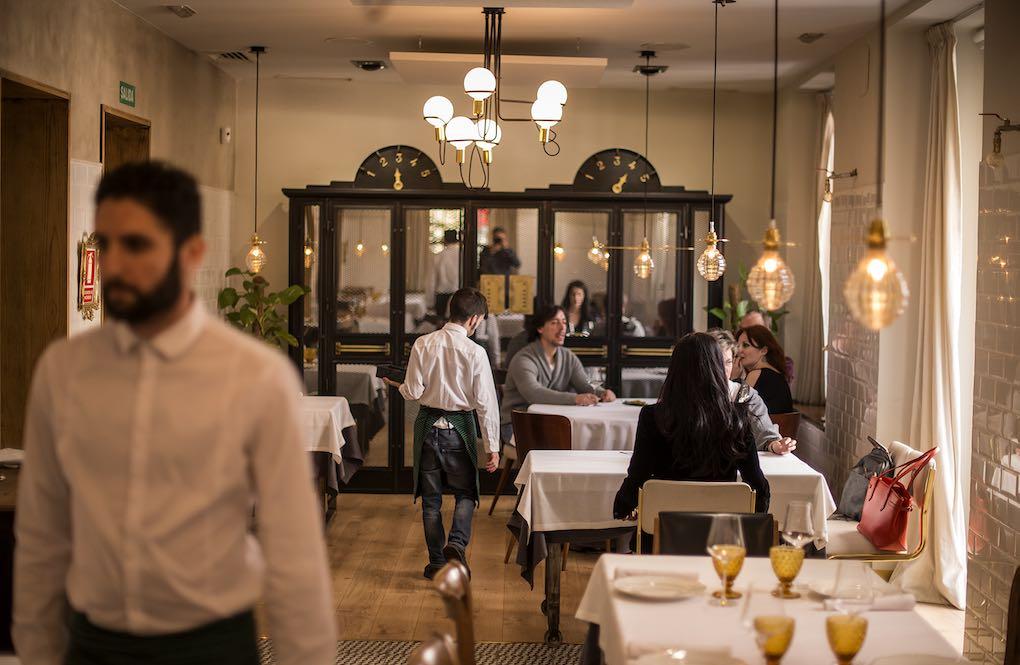 Ambiente del restaurante La Candela Restò.Foto: Alfredo Cáliz
