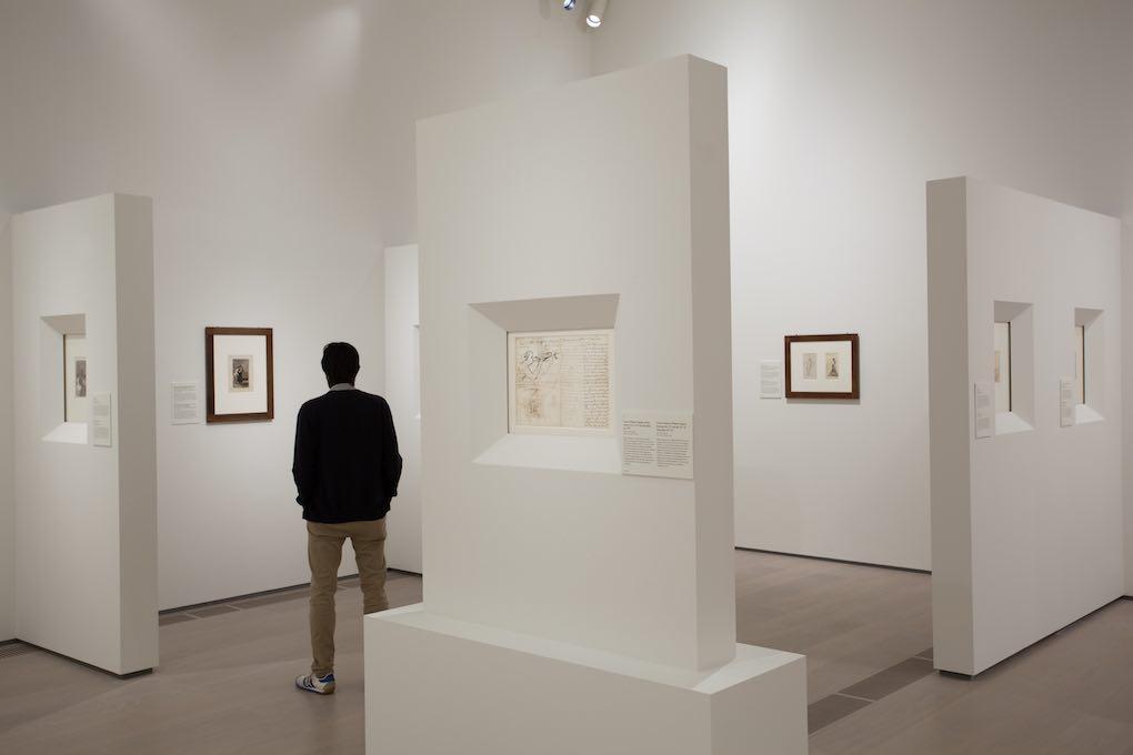 Exposición de dibujos de Goya . Foto: Vicente Paredes