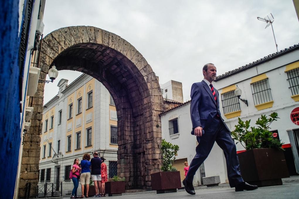 Arco de Trajano, Mérida.