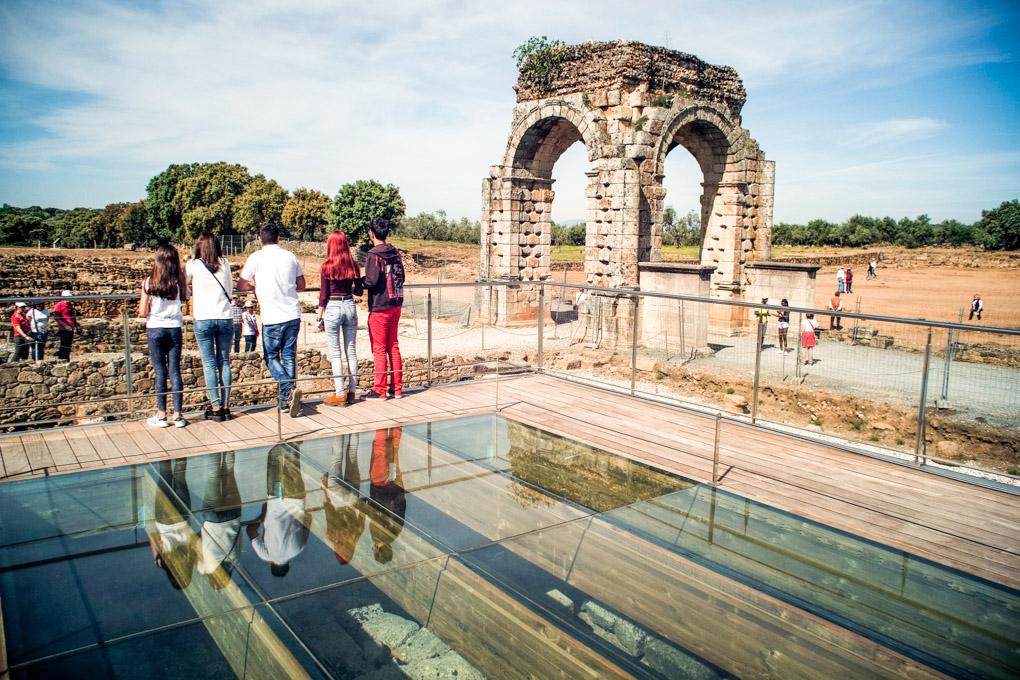 Ruinas romanas Caparra