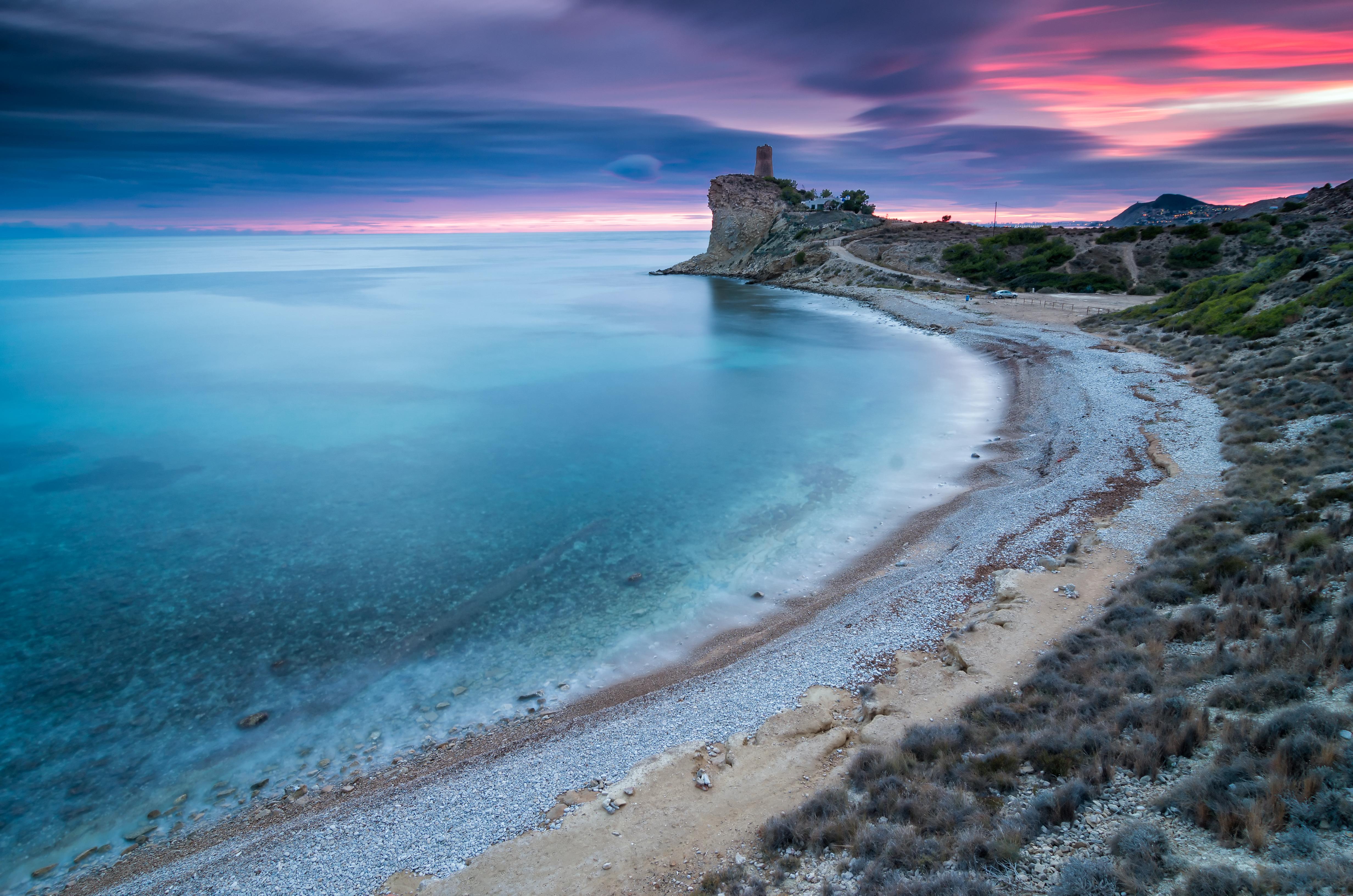 Playa del Xarco (Villajoyosa, Alicante)