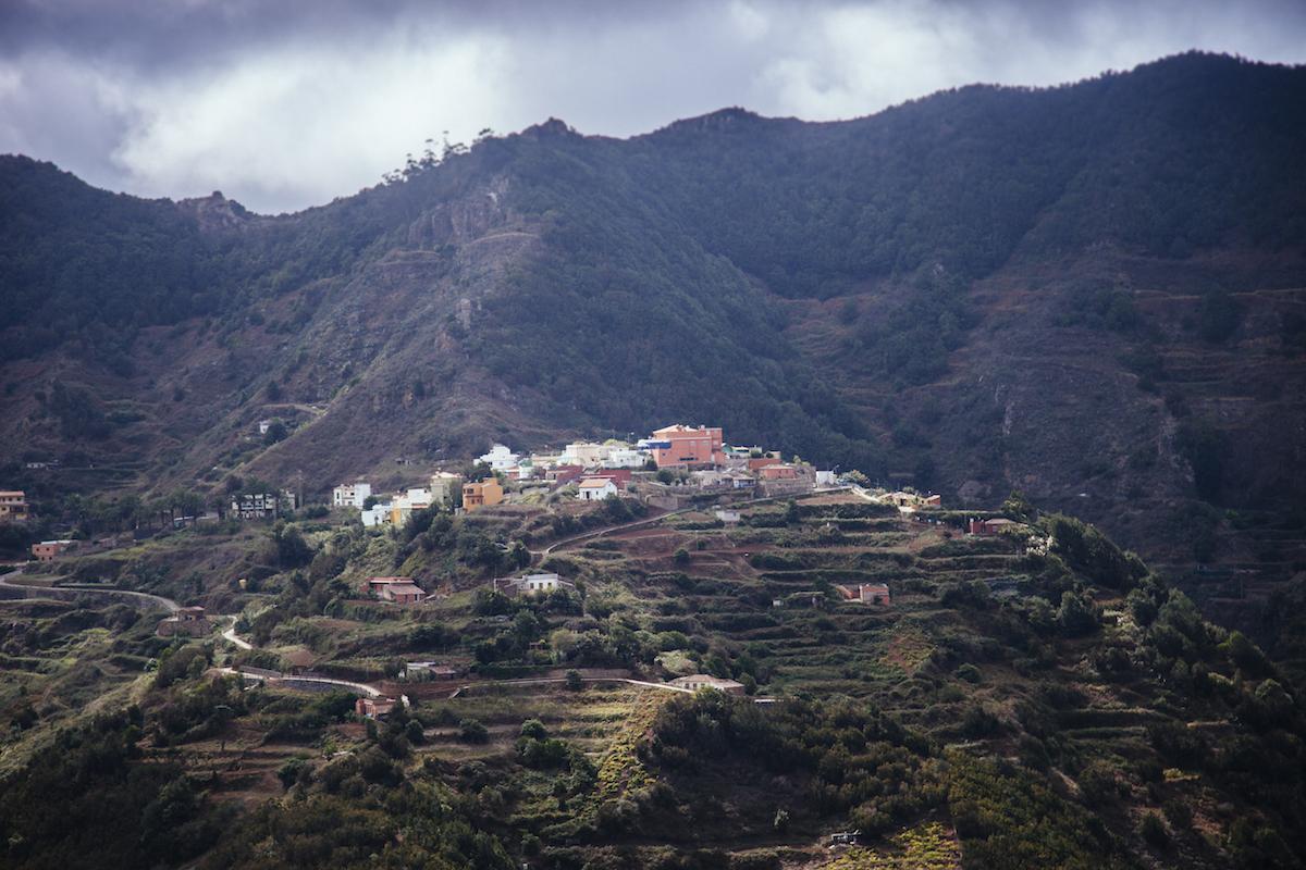 Las Carboneras abrazadas por el parque rural de Anaga. Foto: Rocío Eslava