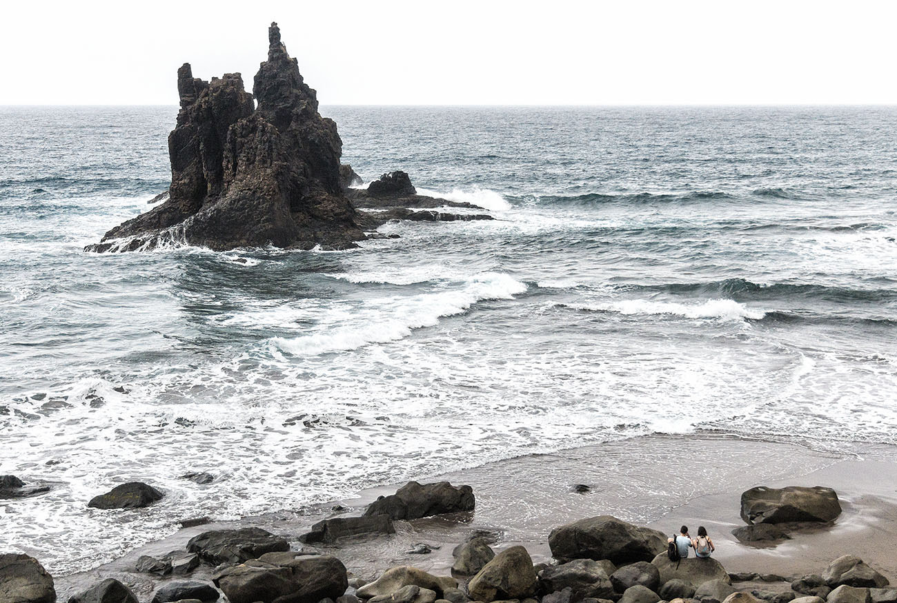 Playas de Tenerife: Benijo (3) Foto: Yanira Quintero