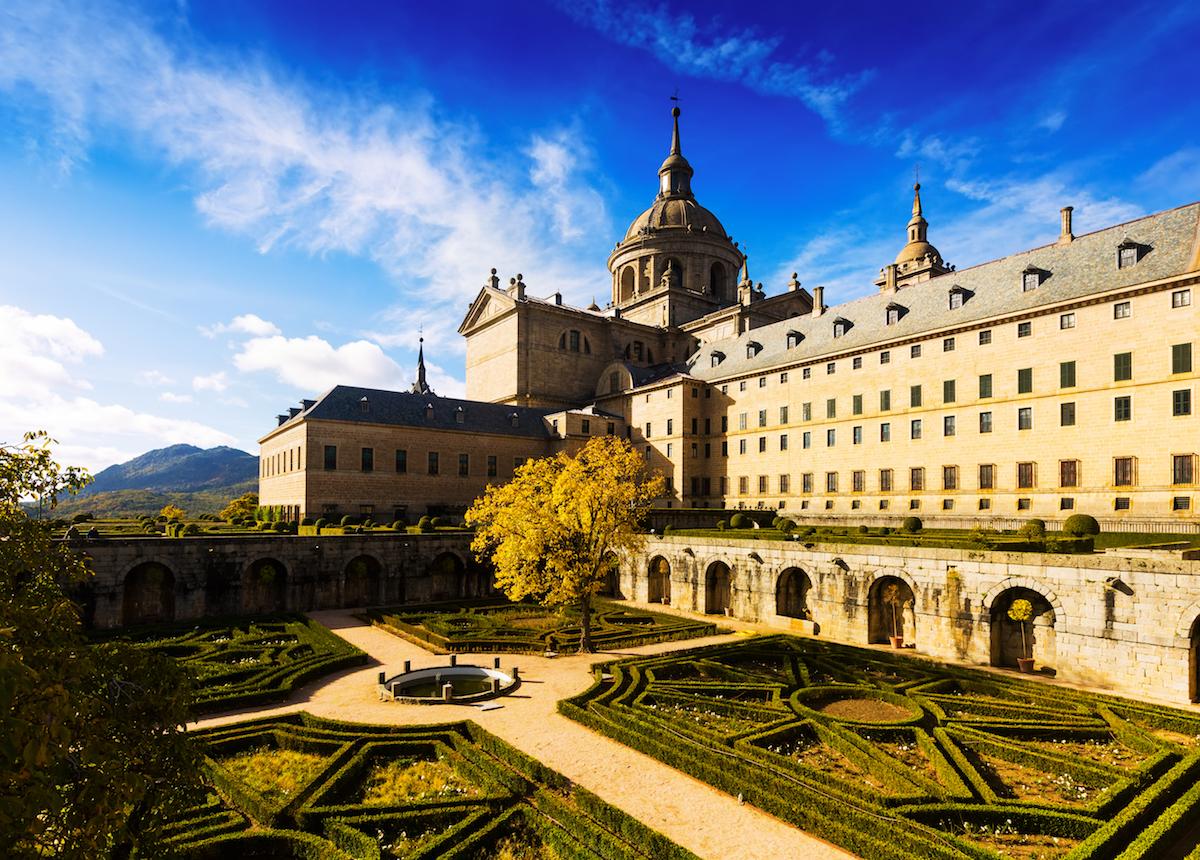 Monasterio de El Escorial. Foto: Shutterstock