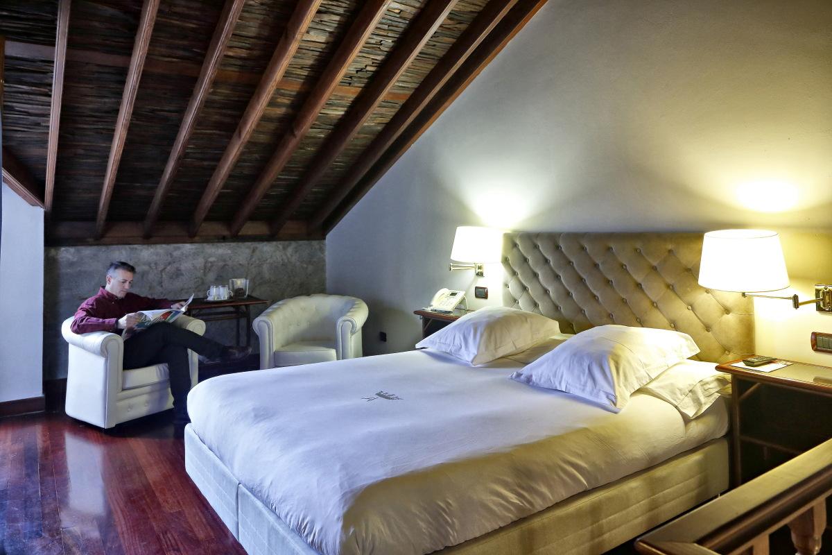 Hacienda El Buen Suceso (Gran Canaria) habitación. Foto: Roberto Ranero