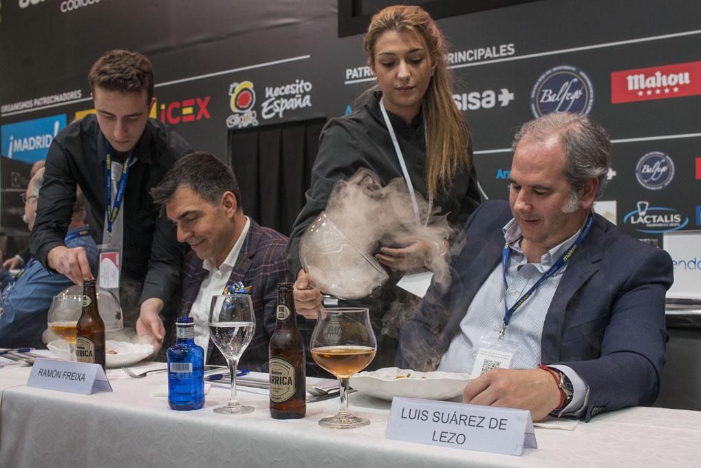 Luis Suárez de Lezo y Ramón Freixa. Foto: Alfredo Cáliz
