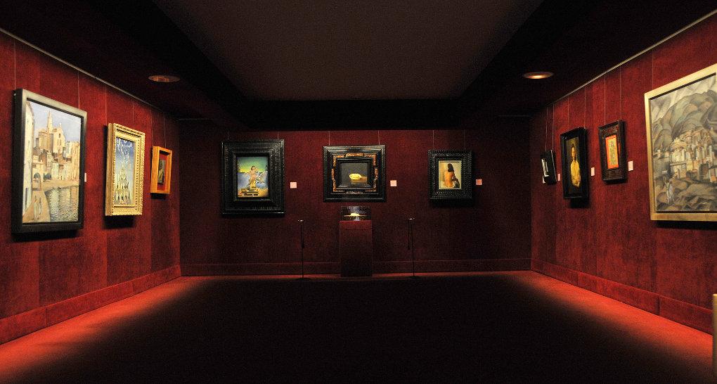 Palacio del viento, Teatro-Museo Dalí de Figueres Imagen cedida por cortesía de la Fundació Gala-Salvador Dalí