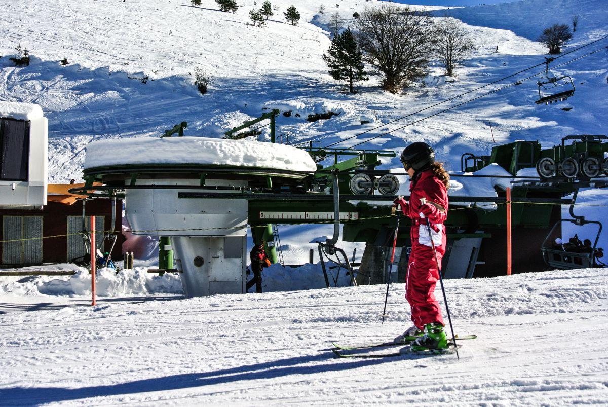 Ezcaray. Estación de esquí de Valdezcaray. Foto: shutterstock
