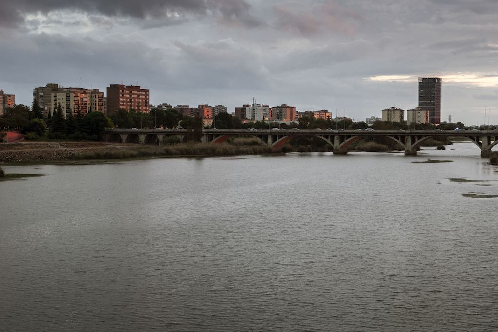 Puente Universidad en Badajoz. Foto: Manuel Ruiz Toribio