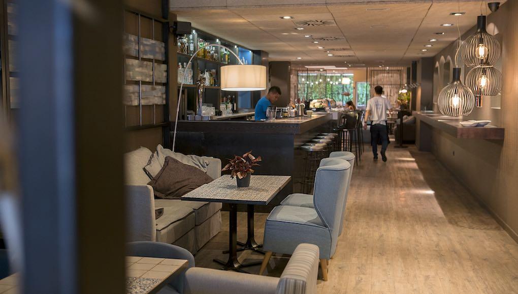 Interior del restaurante 'Totora' de Barcelona