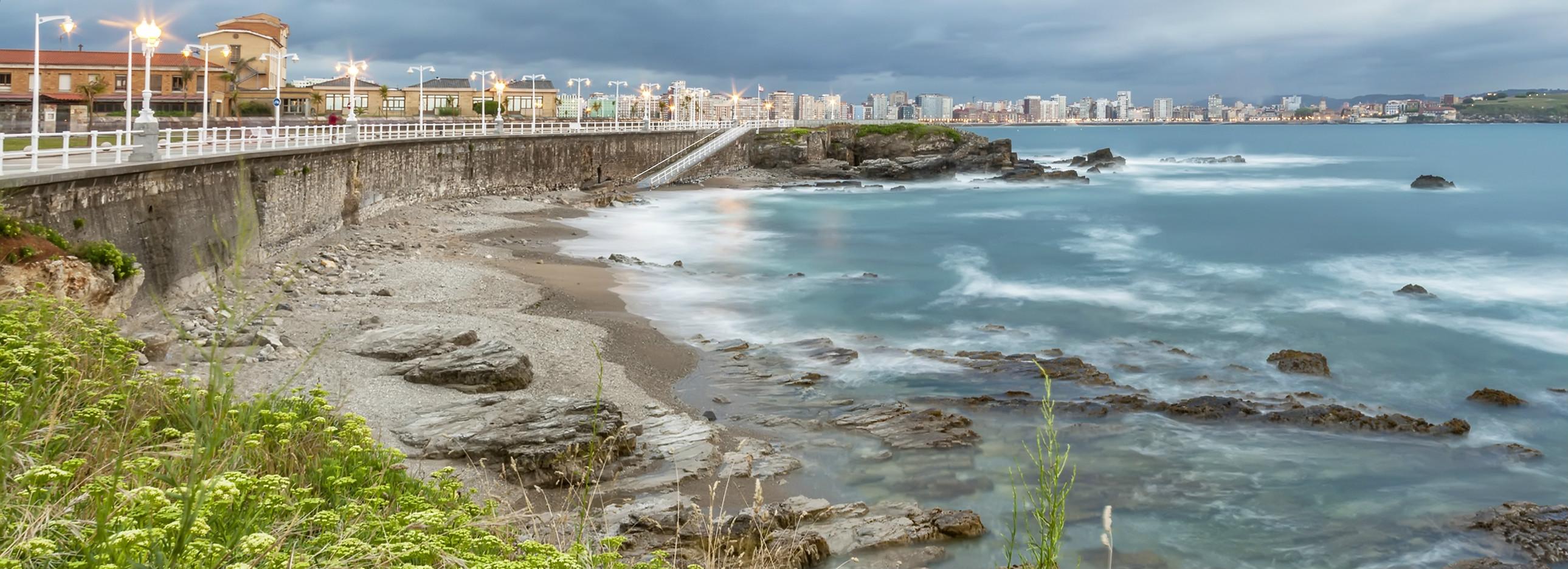 Playa del Rinconín (Gijón)