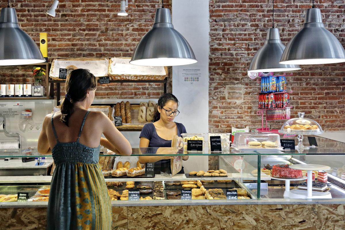 Panaderías celíacos Madrid