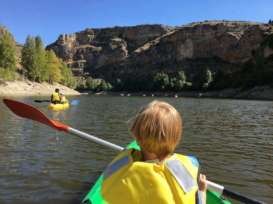 Kayak en las Hoces del Duratón