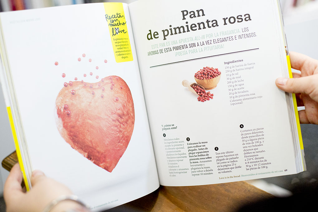 'Love is The Bread'. Foto: A Punto Librería